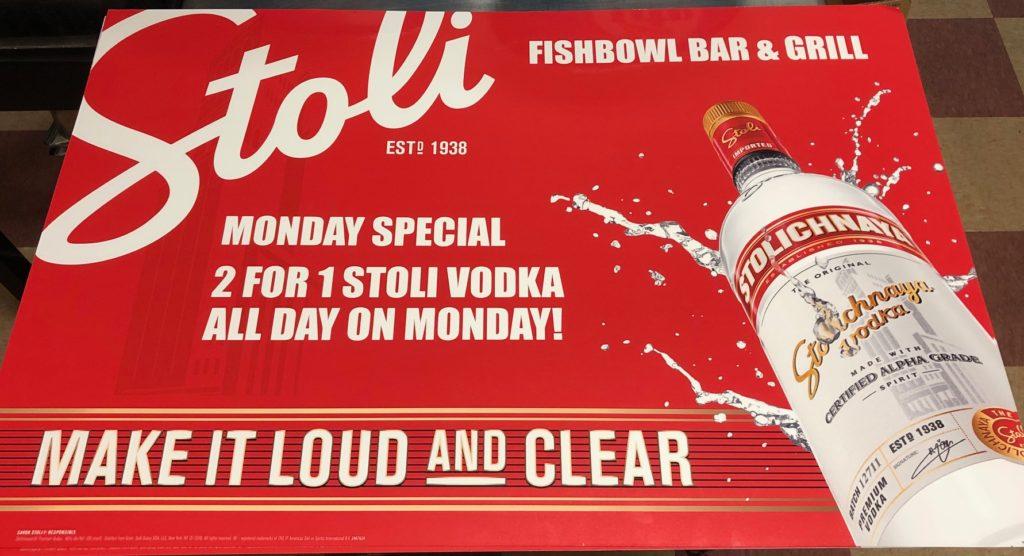 Monday Stoli Ad